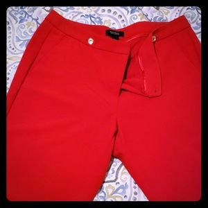 WHBM red ankle pants!